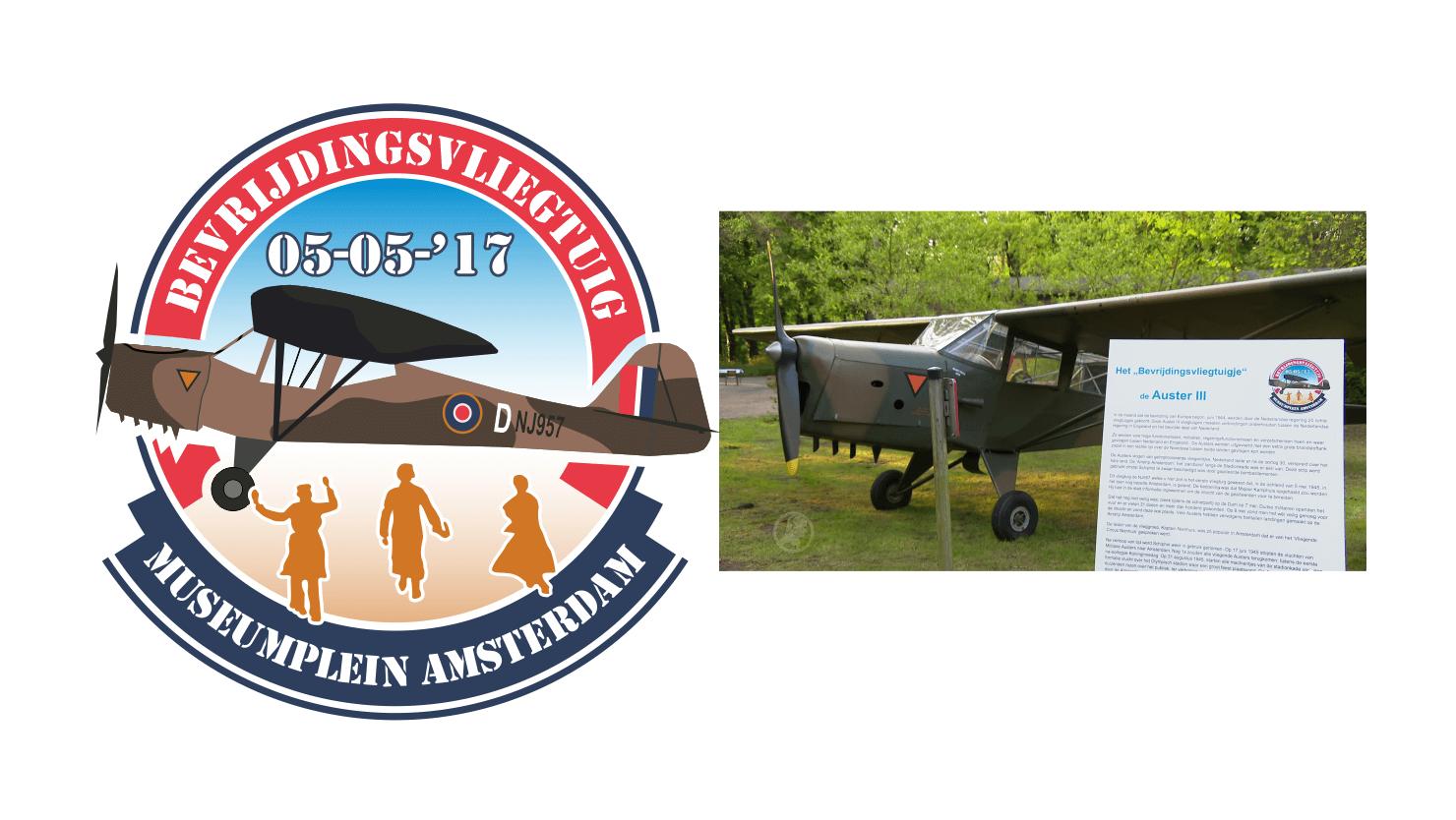 Logo Bevrijdingsvliegtuig